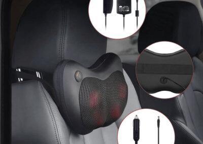 Masażer poduszkowy shiatsu - montaż w samochodzie